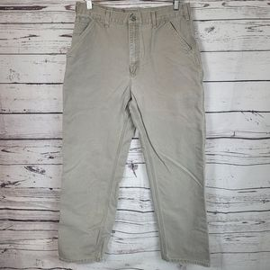 Carhartt Washed Duct Work Desert Dungaree Pants